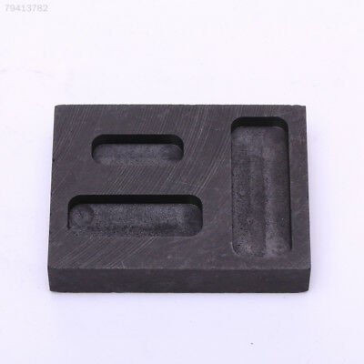B0FF 0.25/0.5/0.1oz Three Graphite Crucible Metal Tool Gold Bar Molds New Arriva