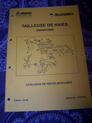 6F Catalogue pieces de rechange AGRAM Tailleuse de haies Swingtrim