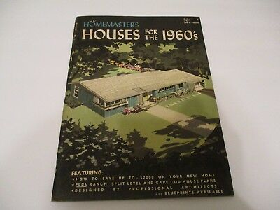 Homemaster's, Houses for the 1960's - vintage home plans 1960