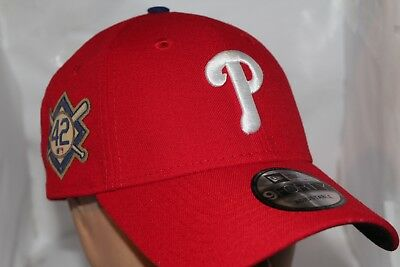 new styles 7a05c 0f51d Philadelphia Phillies MLB NEW ERA 2018 Jackie Robinson Patch 9Forty,Cap,Hat  NEW