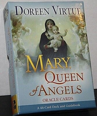 Doreen Virtue Mary, Queen of Angels Oracle Cards 44 Card Deck and Guidebook