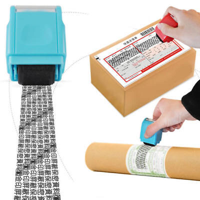 Identity Theft Protection-Privacy Security Stamp Hide ID Protect-Roller Guard UK