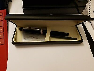 Aurora Ipsilon Tricolore Neri Fountain Pen