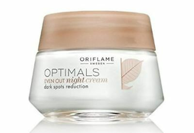Night Treatments Strict Oriflame Optimals Even Out Night Cream Dark Spot Reduction 50ml Health & Beauty