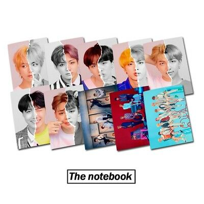 KPOP BTS Notebook Bangtan Boys Stationery LOVE YOURSELF Diary Book Notebook