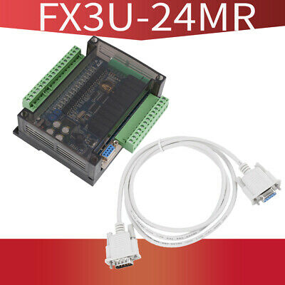 FX3U-24MR Industrial Control Board PLC Programmable Logic Controller Relay Outpu