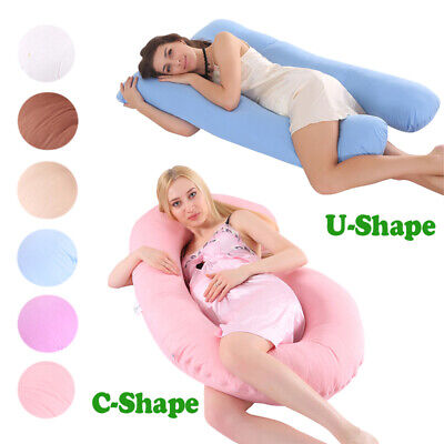 d6a1eb76c U Shape C Shape Pregnancy Pillow-Full Body Pillow for Maternity   Pregnant  Women