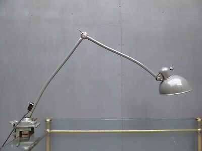 Rare Vintage Industrial Antique Kaiser Idell 6726 Desk Table Clamp Lamp Light