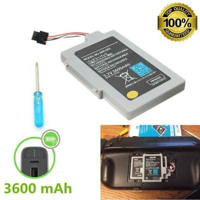 3600mAh 3.7V Rechargeable Battery Pack For Nintendo Wii U Gamepad Replacement