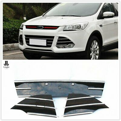 Front Bumper Lower Grille Grill Refit Trim For Ford Escape/ Kuga 2013-2016