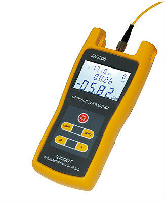 New Portable Handheld Optical Power Meter Tool JW3208 C Laser Fiber Optic