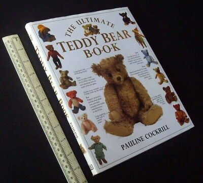 The Ultimate Teddy Bear Book. Cockrill Vintage 1991 Chad Valley Merrythought etc