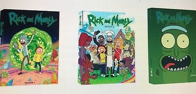 Rick and Morty: The Complete Series Season 1 - 3 (6-Disc DVD Box Set) NEW Sealed