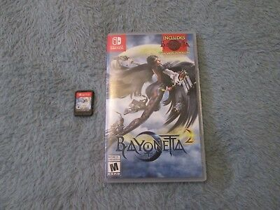 Bayonetta 2 (Nintendo Switch, 2018) Free Shipping