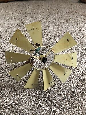 Antique Vintage Windmill W/Missing Blade Farmhouse. Nostalgic