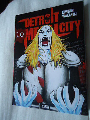 DETROIT METAL CITY Tome 10 DMC MANGA EO VF DEATH KISS ROCK POP MUSIQUE