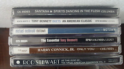 R & B, and EASY LISTENING  -- LOT of 4 CD's
