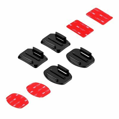 3M Flat Curved Surface Adhesive Sticker Pads Base Mount for GoPro 6 5 Xiaoyi 4K