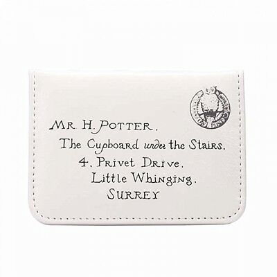 Genuine Warner Bros Harry Potter Letters ID Card Holder Travel Pass Bus Train