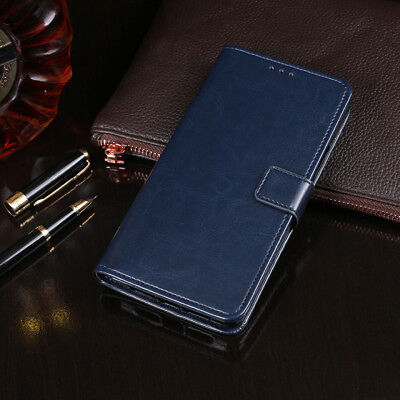 For Huawei Honor 10 9 8 7 6X Luxury Magnetic Flip Leather Card Wallet Case Cover