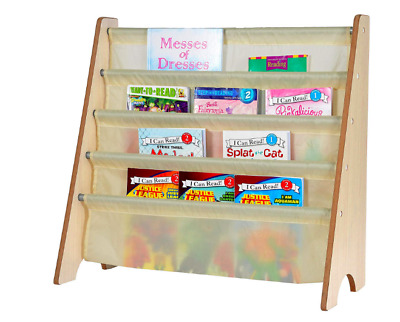 Kids Book Rack Storage Shelf Bookshelf Bookcase Organizer Display Holder Tutors