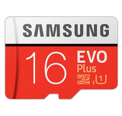 SAMSUNG 100% D'origine TF Micro SD Carte Mémoire Carte Microsd EVO + 32 gb 95 m/