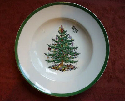 Spode Christmas Tree Rim Soup Plate Bowl NEW several available