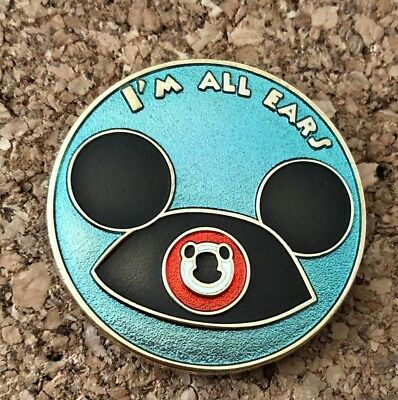 disney trading pin Mickey Mouse I'm All Ears ear hat vintage souvenir limited