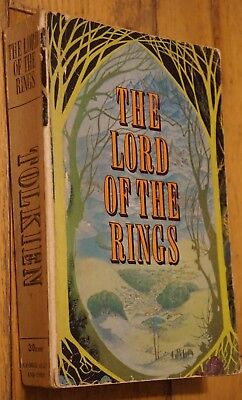 The Lord of the Rings J. R. R. Tolkien 1st time in one volume First Edition 1968