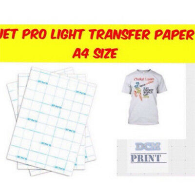 A4size transfer inkjet paper Iron ink transfer paper T-shirt  transfer paper YF
