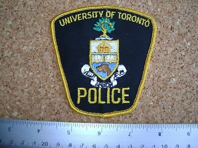 UNIVERSITY OF TORONTO POLICE PATCH Ontario,Canada,Security,Enforcement,guard