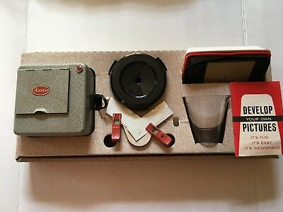 Vintage Ansco Deluxe  Film Developing Outfit Kit