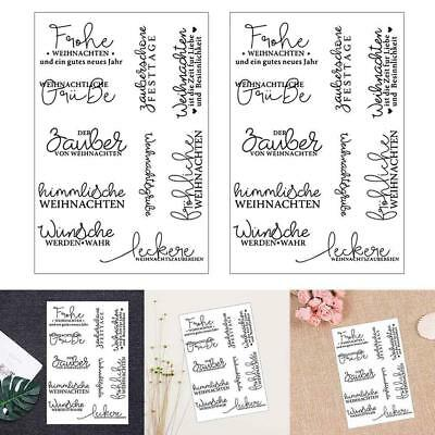 Seal Diy Clear Stamp Silicone Scrapbooking Diary Album Scrapbook Letter Badge