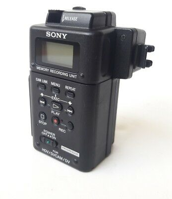 SONY HVR-MRC1 Memory Recording Unit w/HVRA-CR1 Cradle