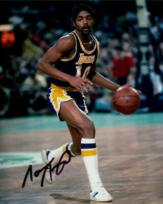 Norm Nixon Photo Signed In Person - Los Angeles Lakers - E958