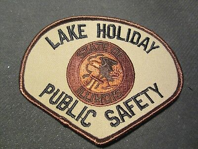 Lake Holiday Il  Public Safety Patch