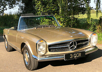 1966 Mercedes-Benz 230SL Pagoda RHD    1 owner from new