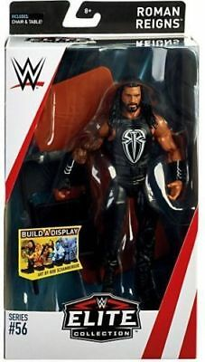 Wwe Roman Reigns Mattel Series 56 Elite Wrestling Action Figure Raw Sd Live Nxt