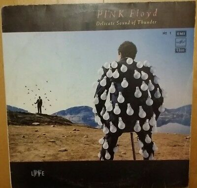 PINK FLOYD DELICATE SOUND OF... 1  Rare Russian press Melodija  for collectors!