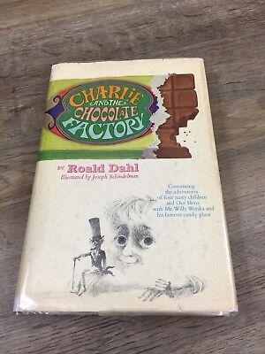 Charlie and the Chocolate Factory - ROALD DAHL - First Edition 1964 - 1st State