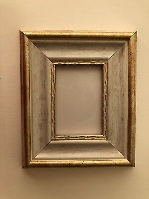 NEW Quality plastic ACEO Art/Sports card 3.5 x 2.5 gray/brown picture frame