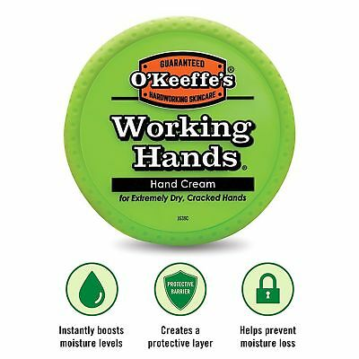 O'Keeffe's Working Hands Hand Cream for Cracked/Split Skin/Non-Greasy O'Keeffes