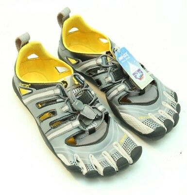 separation shoes fe9ad cd93a ... usa nwt vibram fivefingers treksport sandals mens gray black size eu 41  n4302 78c1e 4b11f