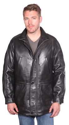 3430fba71 MASON AND COOPER Authentic Lambskin Leather Jacket - Black - $209.99 ...