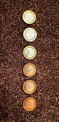 Various Rare £2 Two Pound Coins For The Royal Mint Album & Collectors Inc Tosha