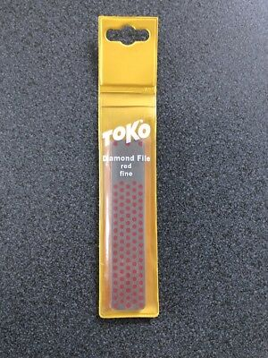 TOKO Diamond File red fine, Diamantfeile fein, 110 mm, Art. 5560022