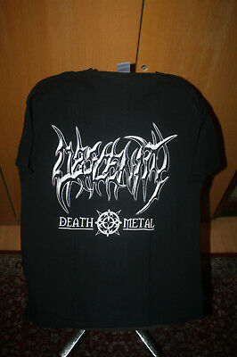Obscenity - Logo T Shirt L Immolation Death Deicide Obituary Cannibal Corpse