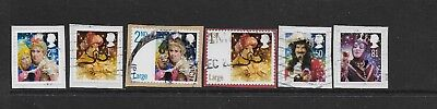 1) GB Stamps  2008 Christmas Full Set Good Used.a