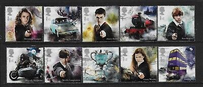 1) GB Stamps 2018  Harry Potter. Good used.