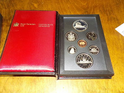1986 Canada Dollar Silver Canadian Royal Mint Coin Set